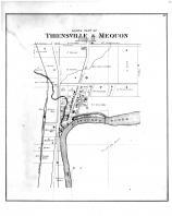 Thiensville & Mequon North Part, Washington and Ozaukee Counties 1892
